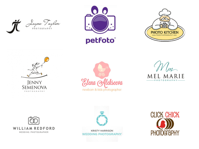 photography logo examples