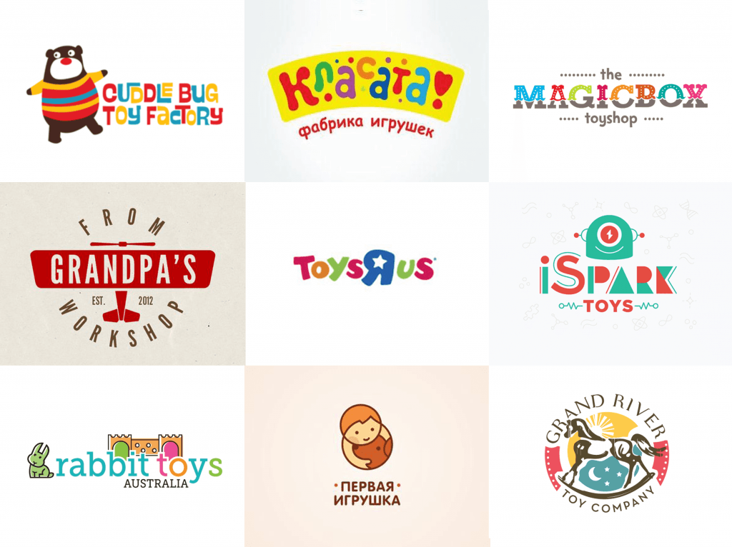 toy company name original examples amp tips logo design