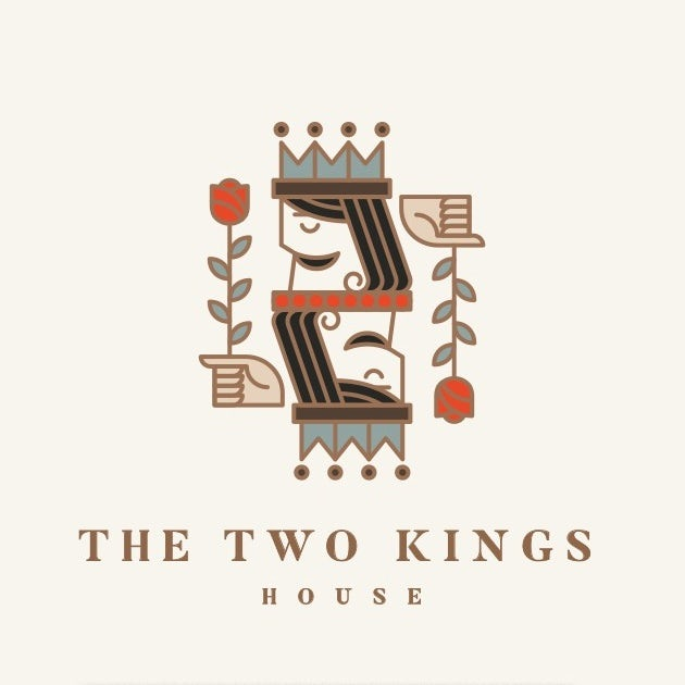 two kings logo example