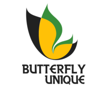 Butterfly Unique Logaster logo