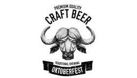 Oktoberfest Craft Beer Logo