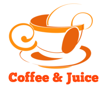 Coffee Juice Logaster logo