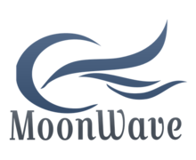 Wave Moon Logaster Logo