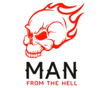 Man From The Hell Logo