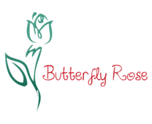 Butterfly Rose Logo