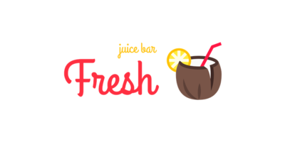 Fresh Juice Bar Logaster Logo