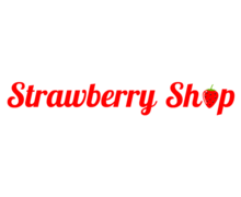 Strawberry Shop Logaster logo
