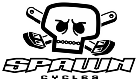 Spawn Cycles Skull Logo