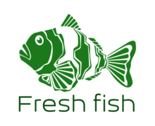 Fresh Fish Logaster logo