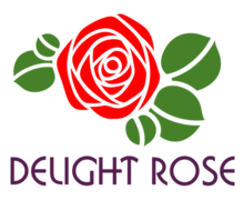 Delight Rose Logaster logo