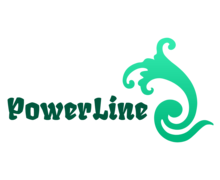 Powerline Logaster Logo