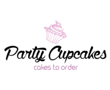 Party Cupcakes Logaster Logo
