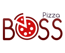 Pizza Boss Logaster Logo