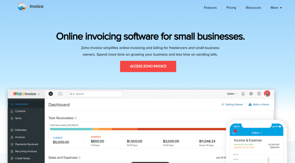 top 10 best invoice generators to issue online invoices
