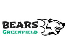 Greenfield Bears Logaster logo