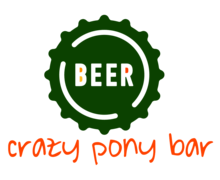 Crazy Pony Bar Logaster Logo