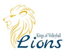 Lions Volleyball Logaster logo