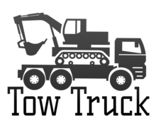 Tow Truck Logaster Logo