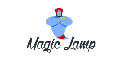 Magic Lamp Logaster Logo
