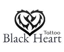 Black Heart Logaster Logo