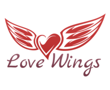 Love Wings Logaster Logo