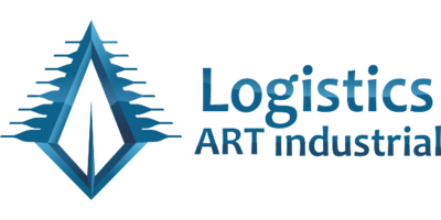 Logistics Art Logo