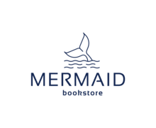Mermaid Bookstore Logaster Logo