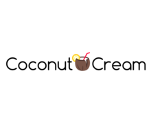 Coconut Cream Logaster Logo